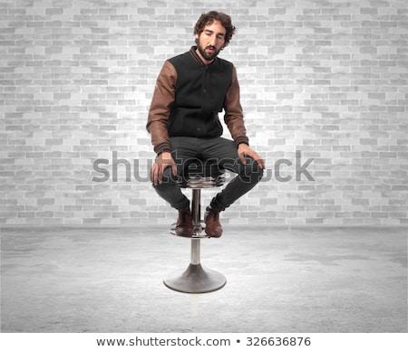 Moço jovem moda homem Foto stock © feedough
