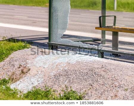 Otobüs görüntü Roma İtalya Stok fotoğraf © SecretSilent