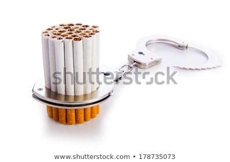cigarros · algemas · abstrato · assinar · trancar - foto stock © elnur