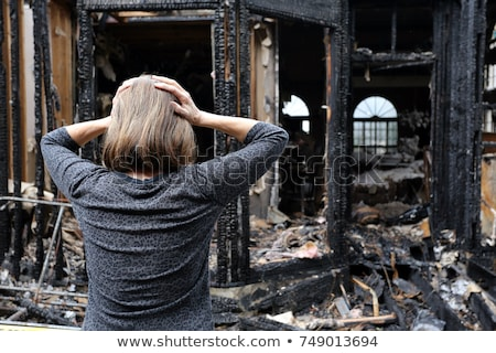 Homeowner Destroying House Stock photo © cteconsulting