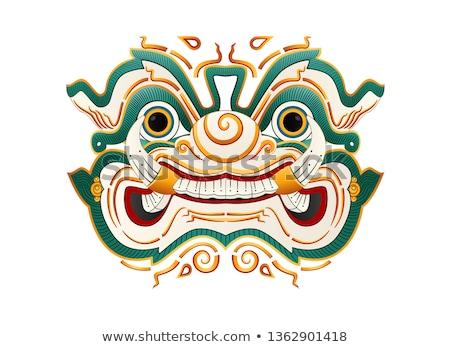 thai · gigante · guardião · sempre · suporte · direito - foto stock © smuay
