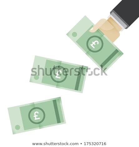 libra · poupança · monetário · britânico · financiar · numerário - foto stock © stevanovicigor