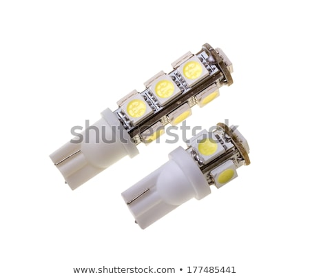 Dois lâmpada automático 13 isolado branco Foto stock © nemalo