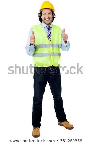 néz · legjobb · férfi · kortárs · stílus · pasztell - stock fotó © stockyimages