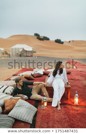 Oasis in Morocco Stock photo © andromeda