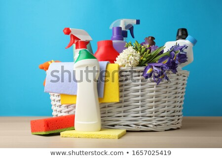 Basket of Cleaning Rags Stock photo © StephanieFrey
