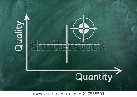 quality and quantity in arrows Stock photo © marinini