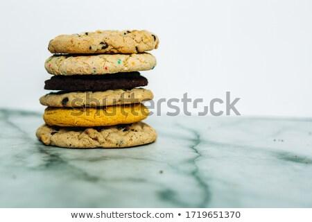 шоколадом · чипа · Cookies · молоко · темно - Сток-фото © raphotos