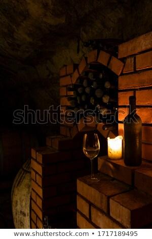 adega · vinícola · República · Checa · vinho · vela · velas - foto stock © phbcz