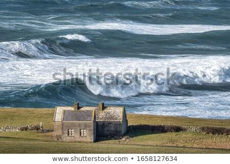 Irlande · ciel · paysage · mer · océan - photo stock © perszing1982