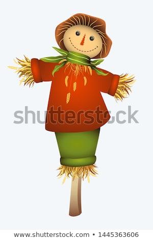 女性 かかし 実例 面白い ドレス 草原 ストックフォト © adrenalina
