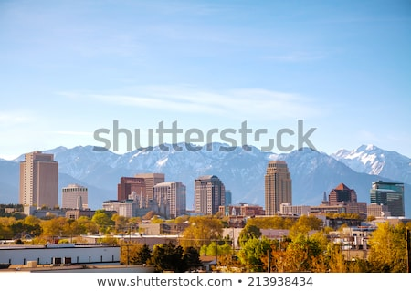 Salt Lake City overview Stock photo © AndreyKr
