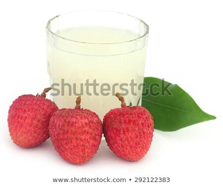 świeże · odizolowany · czarny · żywności · tle · słodkie - zdjęcia stock © bdspn