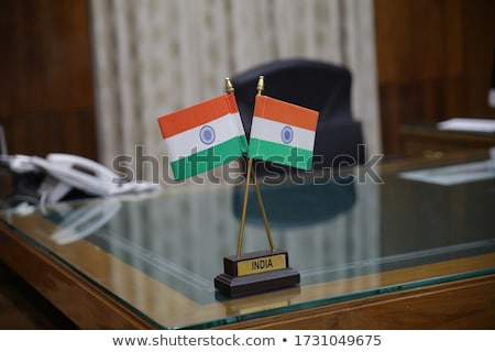 Indian tricolor flag Stock photo © vectomart