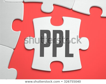 ppl   puzzle on the place of missing pieces stock photo © tashatuvango