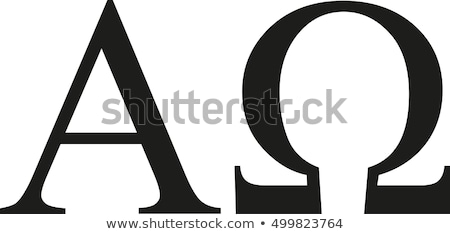 alpha omega letters stock photo © bigalbaloo