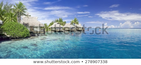 Vacation spot on beach Stock photo © Lighthunter