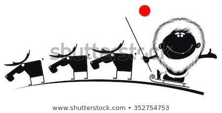 コミック 漫画 男 カット ダウン ツリー ストックフォト © tiKkraf69