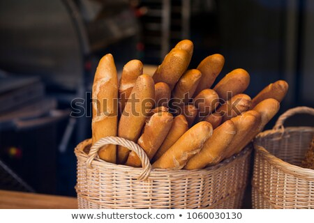 in front french baguette stock photo © cipariss