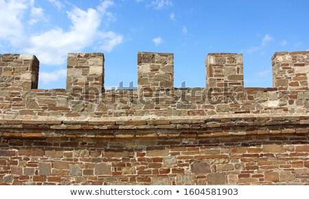 石 · テクスチャ · 石の壁 · 牙城 · 岩 - ストックフォト © taviphoto