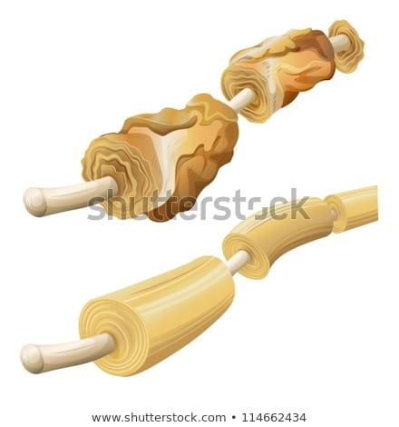 Beschadigd gezonde illustratie tonen achtergrond geneeskunde Stockfoto © bluering