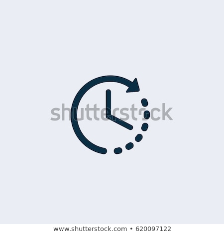 Timer icône illustration ombre horloge design Photo stock © nickylarson974