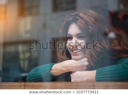 надежды ожидания красоту портрет женщину Сток-фото © stevanovicigor