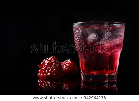 Delicious pomegranate cocktail Stock photo © Lana_M