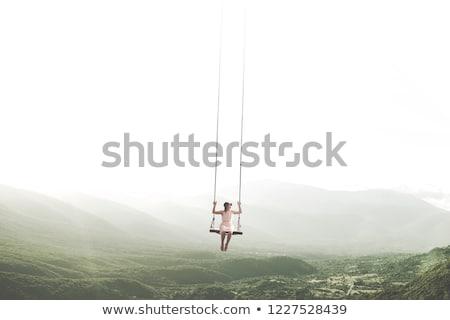 Szürreális kaland klasszikus öreg hajó vitorlázik Stock fotó © psychoshadow