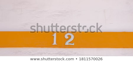 House number: 12 Stock photo © luissantos84