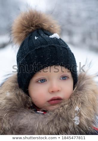 cute · weinig · jongen · grappig · kleding - stockfoto © dariazu