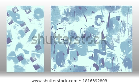 set of two watercolor stain texture background Stock photo © SArts