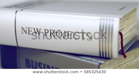 図書 タイトル 新しい プロジェクト 3D スタック ストックフォト © tashatuvango