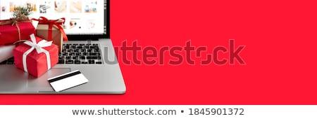 What We Do on Laptop in Modern Workplace Background. Stock photo © tashatuvango