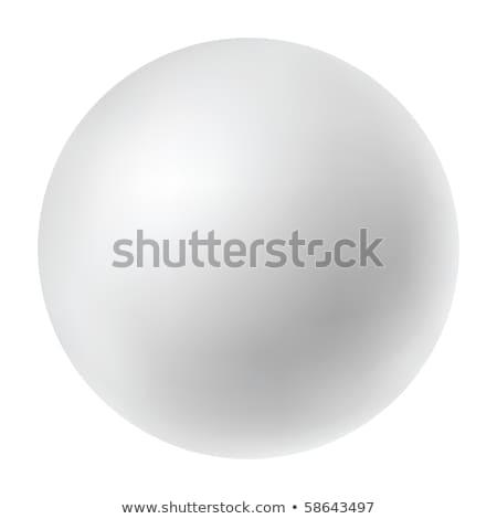 Kleur plastic bollen geïsoleerd witte zwart wit Stockfoto © tuulijumala