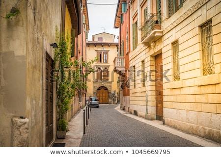 Kentsel sahne yol örnek şehir sokak araba kentsel Stok fotoğraf © lenm