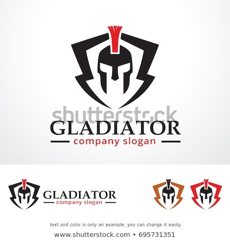 office gladiators illustration stock photo © tawng