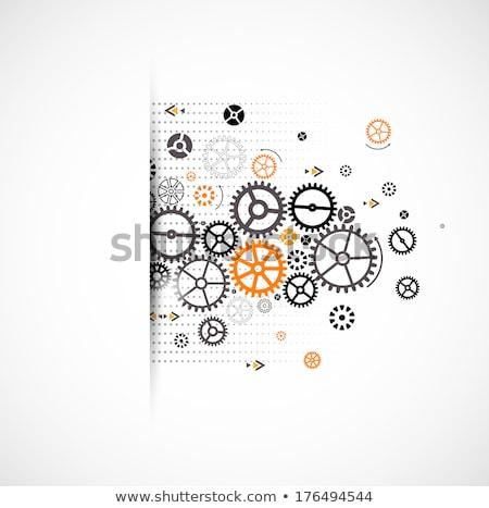 Inżynierii projektu narzędzi ilustracja tle sztuki Zdjęcia stock © bluering