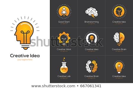 creative mans mind stock photo © get4net
