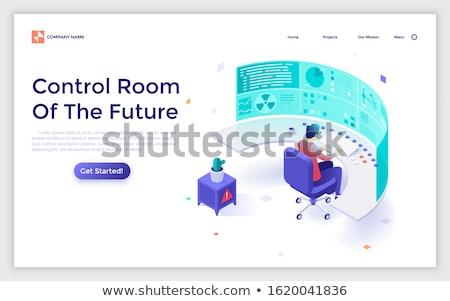 新しい · 技術 · ワイヤレス · インターネット · 接続 · ビジネス - ストックフォト © robuart
