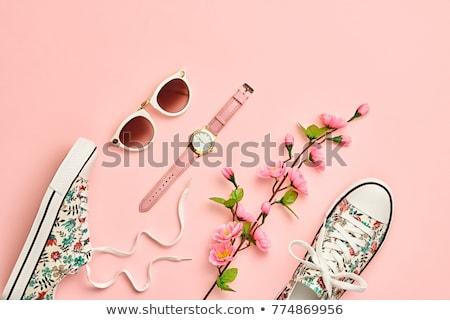 女性 セット 小 日々 靴 ストックフォト © sharpner