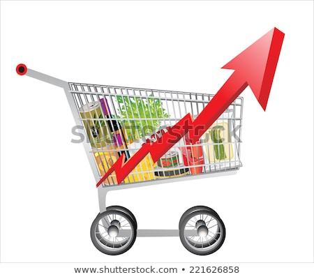 Spożywczy ceny spadek żywności kosztować spadać Zdjęcia stock © Lightsource
