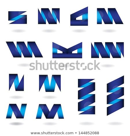 Litery logo wektora ikona działalności Zdjęcia stock © blaskorizov