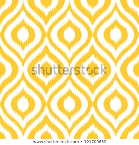 Ikat classic seamless vector pattern. stock photo © yopixart