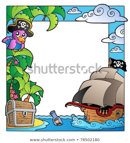 Image with pirate vessel theme 1 Stock photo © clairev