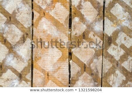 Hálózat nyom öreg koszos fa durva Stock fotó © romvo