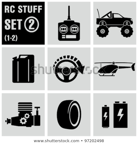 joystick · kroki · ikon · web · hareketli · infographics - stok fotoğraf © olllikeballoon