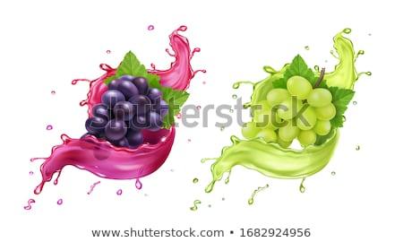 bos · wijnstok · hoek · wijnstok · wijn · abstract - stockfoto © marysan