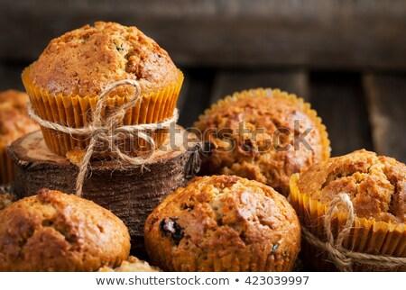 eigengemaakt · zout · muffins · taart · traditioneel · gebakken - stockfoto © melnyk