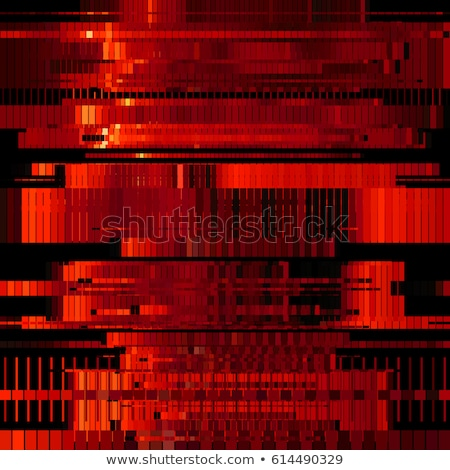 ошибка Код красный цифровой вектора иллюстрация Сток-фото © tashatuvango